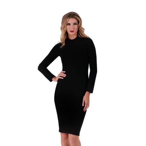 Lamonir Short Dress with Long Sleeves