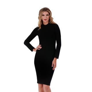 Lamonir Short Dress with Long Sleeves