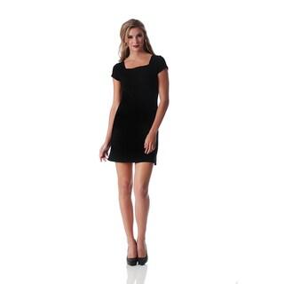 Lamonir Short Dress with Cap Sleeve (3 options available)