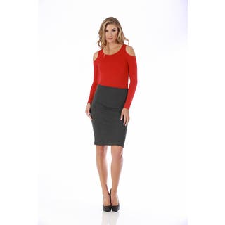 Lamonir Short Pencil Skirt with Back Zip|https://ak1.ostkcdn.com/images/products/17016273/P23296328.jpg?impolicy=medium