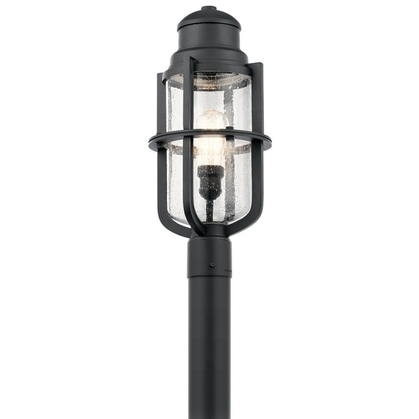 Kichler Lighting Suri Collection 1-light Black Outdoor Post Mount