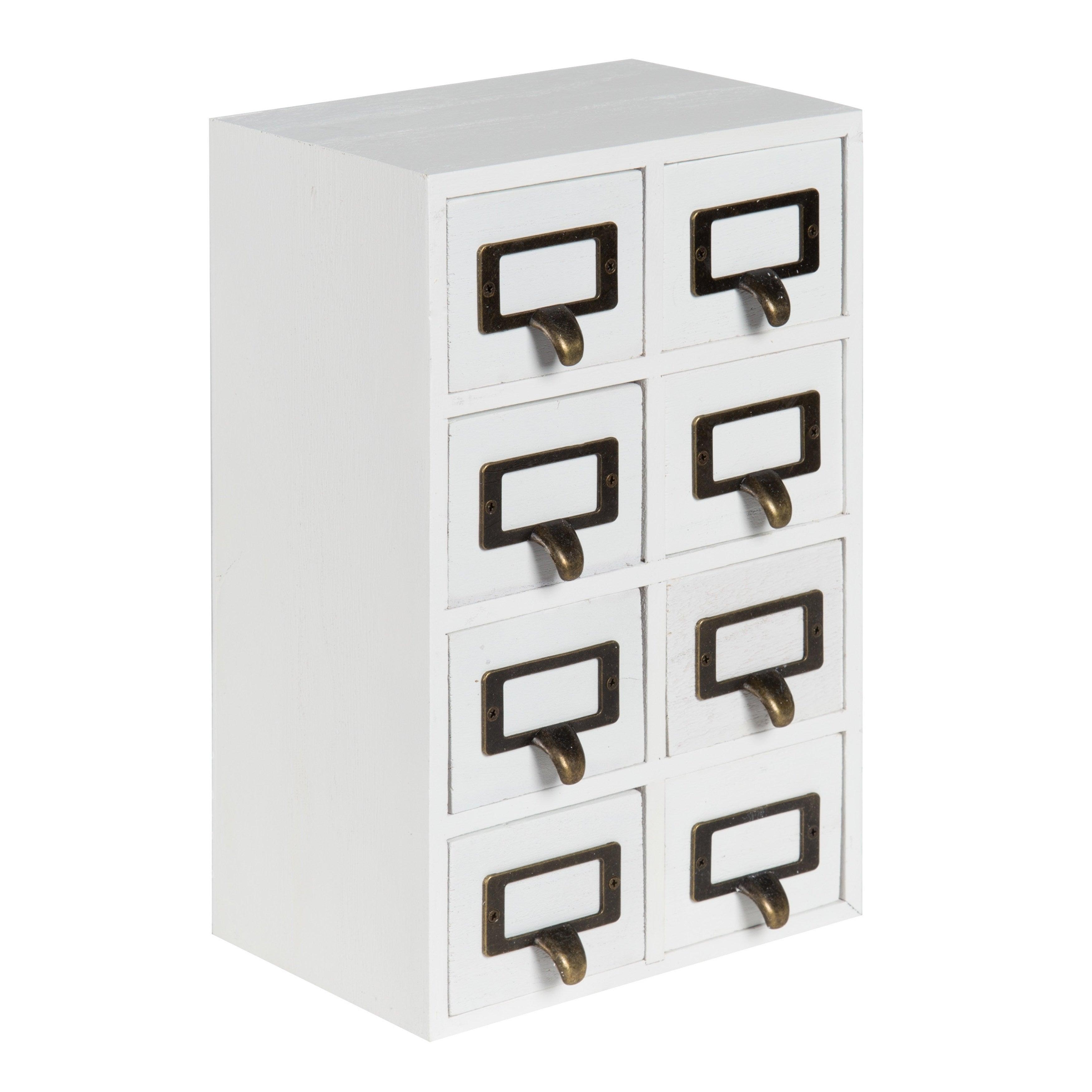 apothecary set black drawers pin size x desktop wood rustic drawer