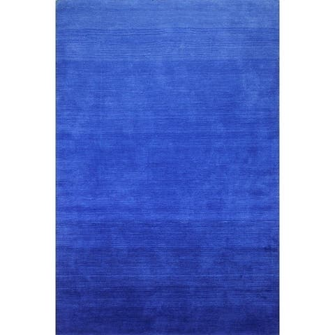 San Cobalt Hand Loomed Contemporary Area