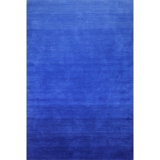 San Cobalt Hand Loomed Contemporary Area. Opens flyout.