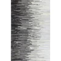 Hugh Cowhide Area Rug - multi - 9' x 12'