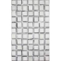 Logan Cowhide Area Rug - multi - 8' x 10'