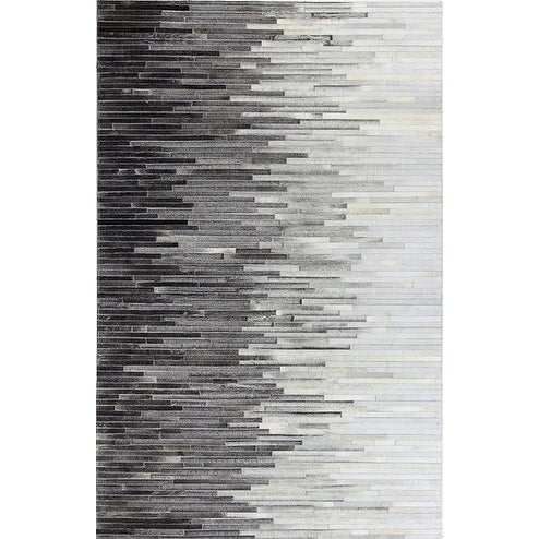 Hugh Cowhide Area Rug - multi - 8' x 10'
