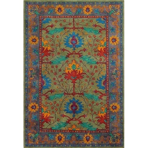 Somers Transitional Hand Tufted Area Rug
