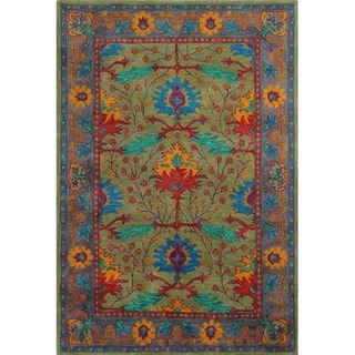Somers Transitional Hand Tufted Area Rug. Opens flyout.