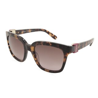 Women's Ferragamo Sunglasses - SF782S / Frame: Havana Lens: Brown Gradient