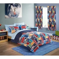 Mainstays Kids Outerspace Stars 7-piece Bed in a Bag Set