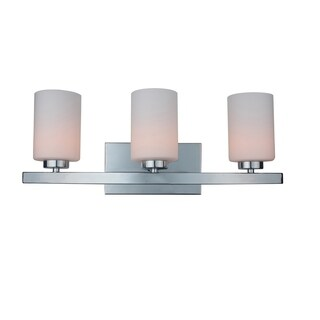 Woodbridge Lighting 16353CHR-C10455 Charlotte 3-light Bath