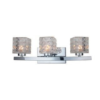 Woodbridge Lighting 16353CHR-C80410 Charlotte 3-light Bath