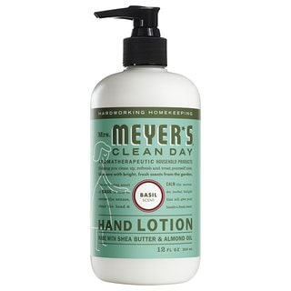 Mrs. Meyer's 12-ounce Basil Clean Day Hand Lotion