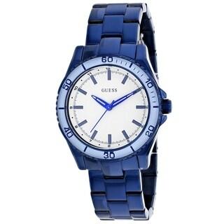 Guess Women's Blue Stainless Steel Watch