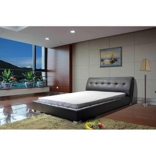 Greatime B1213 Black Upholstered Bed