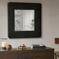 Ink and Ivy Weston Black Iron Decor Mirror