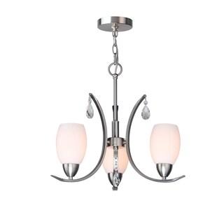 Woodbridge Lighting 15713STN-C2040 Olivia 3-light Chandelier