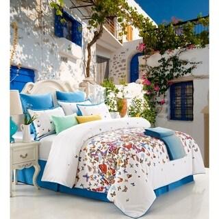 Romance 100-percent Cotton Printed 8pc Comforter Set