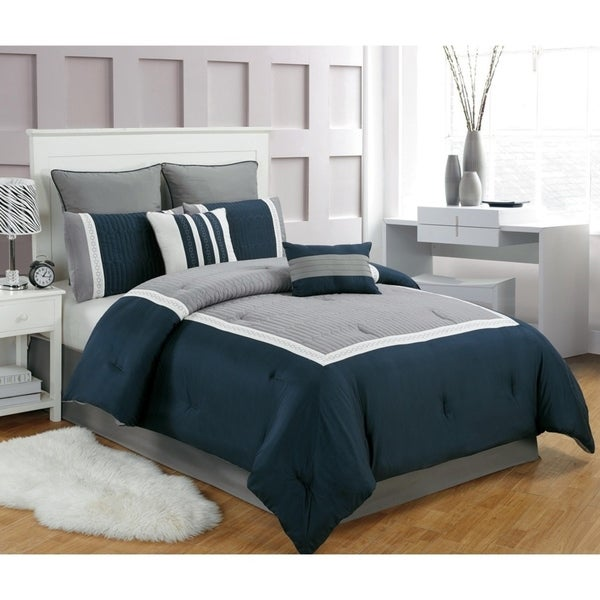 Georgetown Quilted 8 pc Comforter Set