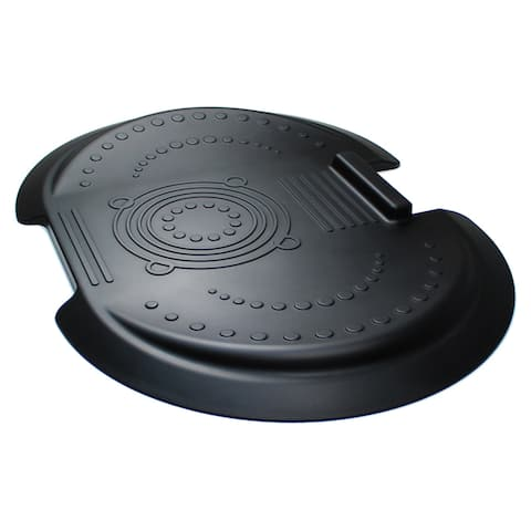 """AFS-TEX System 5000 Anti-Fatigue Mat Ergonomically Designed For Use With Standing Desk Midnight Black Size 26"""" x 36"""""""