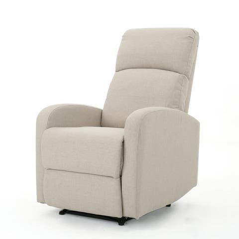 Gaius Class Fabric Recliner by Christopher Knight Home