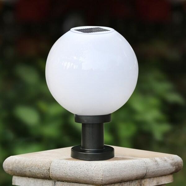Outdoor Solar Light Energy Saving Pillar Wall Lamp Garden