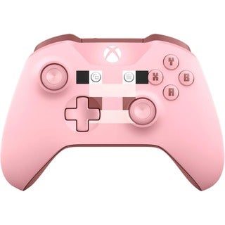 Microsoft Xbox One Minecraft Pig Wireless Controller