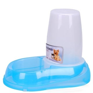 1.5L Automatic Water Dispenser Pet Clear Water Container for Dogs Cats Blue