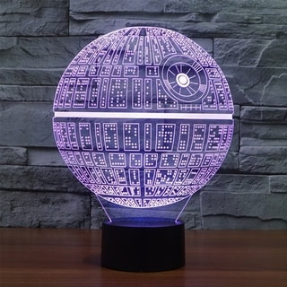Creative Star Wars LED 3D Night Light Soft for Desk Lamp