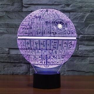 Creative Star Wars LED 3D Night Light Soft for Desk Lamp