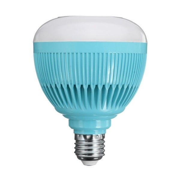 Shop 12W E27 Smart RGB LED Wireless Bluetooth Speaker Bulb