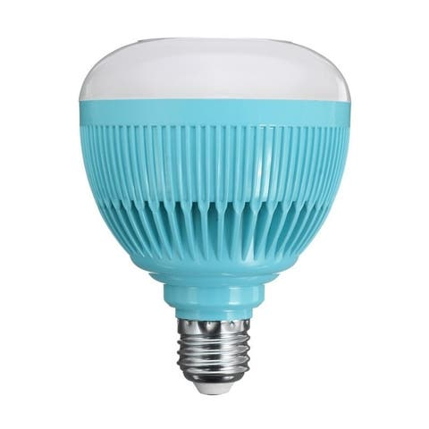 12W E27 Smart RGB LED Wireless Bluetooth Speaker Bulb Light Music Playing Lamp with Remote Control