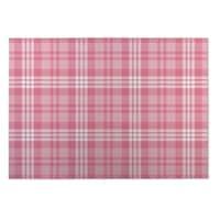 Kavka Designs Pink Bees Indoor/Outdoor Floor Mat - 4' x 5'