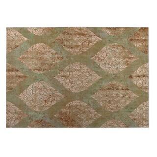 Kavka Designs Green Ascent Indoor/Outdoor Floor Mat - 4' X 6'