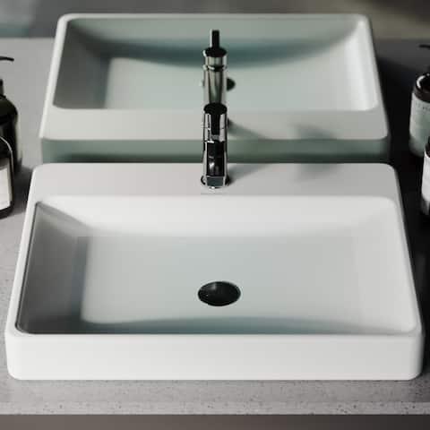 Carre Rectangular Vessel Sink