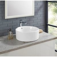 Swiss Madison Monaco® Round Ceramic Bathroom Vessel Sink