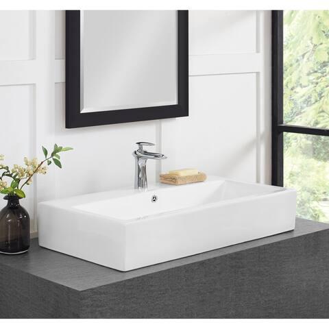 Swiss Madison Voltaire® 30 Inch Wide Bathroom Vessel Sink