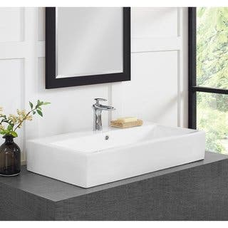Trough Bathroom Sink. Swiss Madison  Plaisir 30 Inch Wide Bathroom Vessel Sink Rectangle Sinks For Less Overstock com