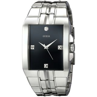 Guess Men's U10014G1 Crystal Stainless Steel Watch