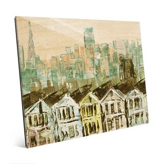 San Francisco Streets Wall Art Print on Acrylic