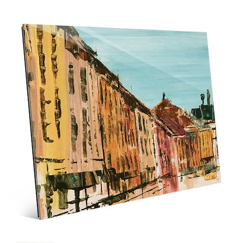 Quaint Streets Of Montreal Wall Art on Acrylic