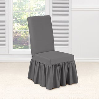 Sure Fit Essential Twill Dining Room Chair Slipcover