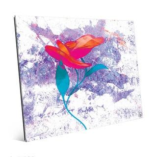 Cerise Bloom-Flower Wall Art Print on Acrylic