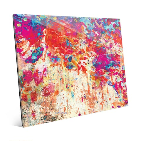 Splatter Shop Abstract Wall Art Print on Acrylic