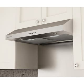 Under Cabinet Range Hood In Stainless Steel