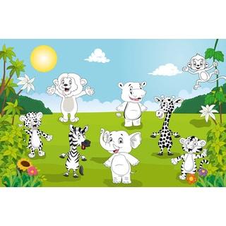 Happy Animals Wall Mural