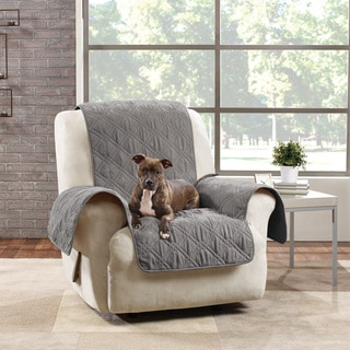 Shop Sure Fit Soft Suede Pet Cover Wing Chair Recliner
