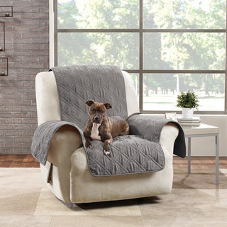 Sure Fit Microfiber Quilted Pet Throw Recliner Cover & Recliner Covers u0026 Wing Chair Slipcovers - Shop The Best Deals for ... islam-shia.org