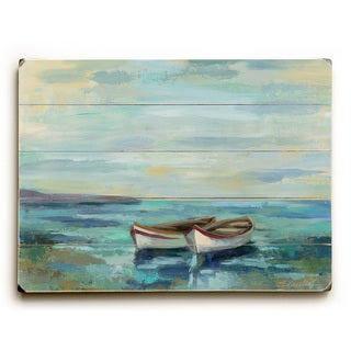 Link to Boats at the Beach - Wall Decor by Silvia Vassileva Similar Items in Wood Wall Art
